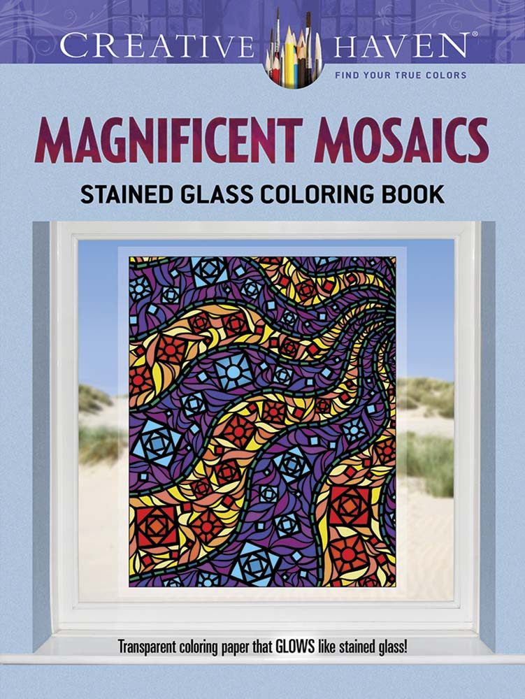 Magnificent Mosaics Stained Glass Coloring Book | Corning Museum of ...