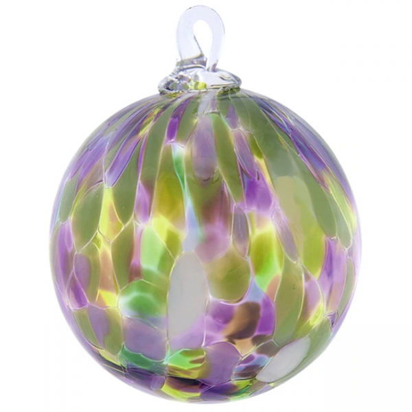 Glass Eye Studio: Classic Ornament, Water Lily
