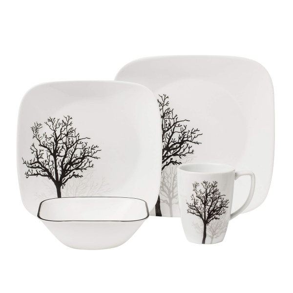 Corelle: Timber Shadows 16-Piece Set
