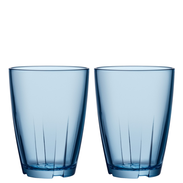 Anna Ehrner: Bruk Blue Large Tumbler, Set of 2