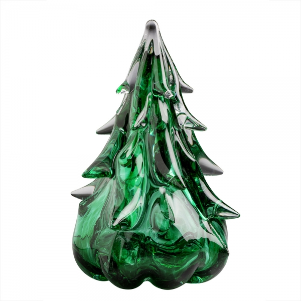 Anchor Bend Glassworks: 6 Inch Tree, Green