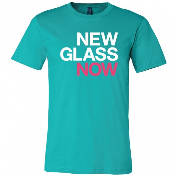 Corning Museum of Glass: New Glass Now Teal T-Shirt