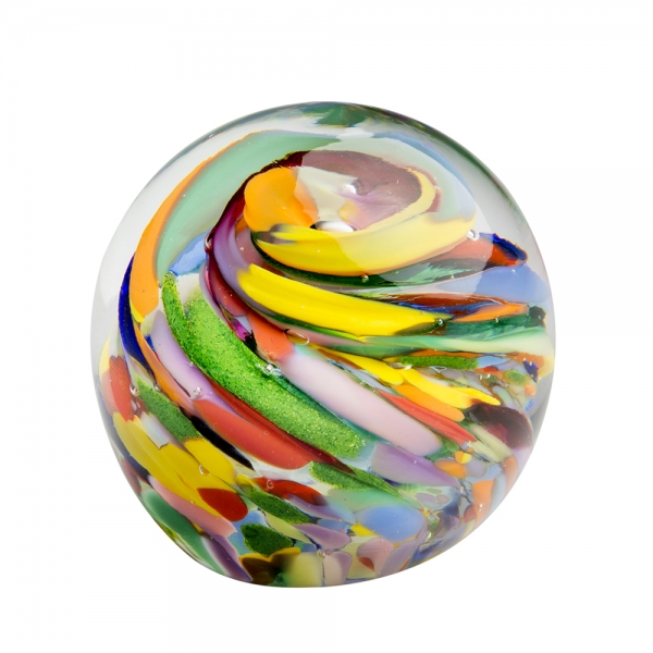 Hands on Glass: Small Paperweight, End of Day