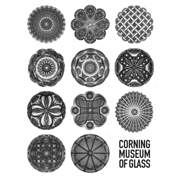 Corning Museum of Glass: Crystal City Large Lined Journal