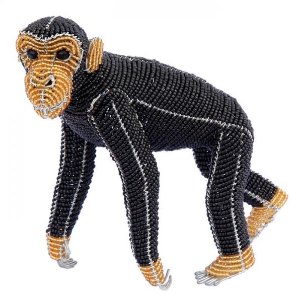 Beadworx: Beaded Chimpanzee