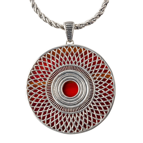 Cynthia Gale: Ennion Statement Topaz Necklace