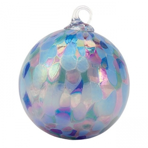 Glass Eye Studio: Classic Ornament, Lavender Fields