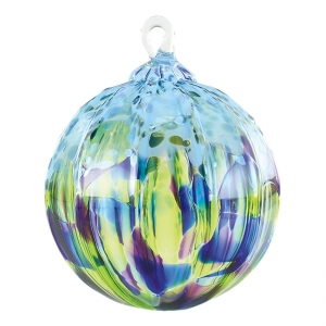 Glass Eye Studio: Classic Ornament, Island Sprinkle