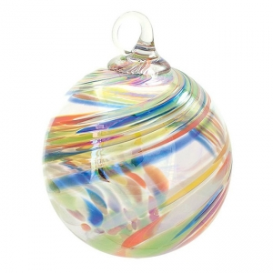 Glass Eye Studio: Classic Ornament, Clown Feather