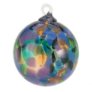Glass Eye Studio: Classic Ornament, Mystique Orchid