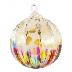 Glass Eye Studio: Classic Ornament, Rainbow Sprinkle