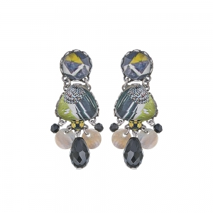 Ayala Bar: Midnight Riva Earrings
