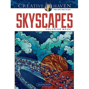 Creative Haven: SkyScapes Coloring Book