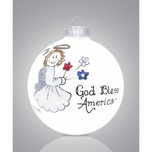 Heart Gifts by Teresa: God Bless America Ornament