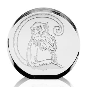 Steuben: Monkey Zodiac Disk