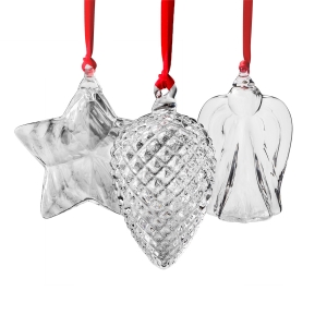 Steuben: 2017 Holiday Ornament Gift Set