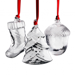 Steuben: 2018 Holiday Ornament Gift Set