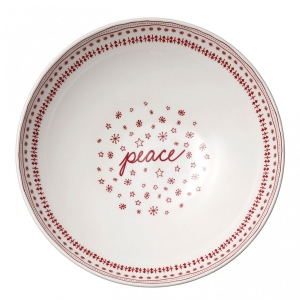 Royal Doulton: ED Holiday Serving Bowl