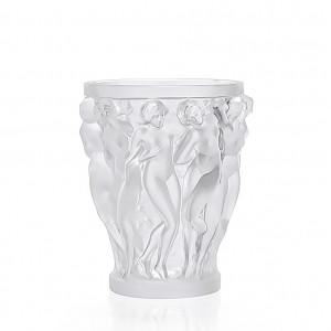 Lalique: Small Bacchantes Vase, Clear