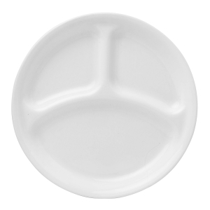 "Corelle: Winter Frost White 10.25"" Divided Plate"