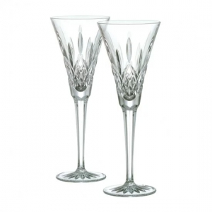 Waterford: Lismore Toasting Flutes, Set of 2
