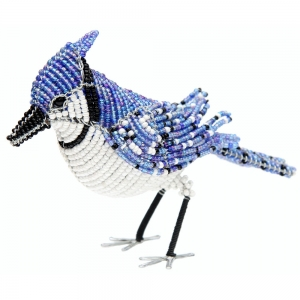 Beadworx: Beaded Blue Jay