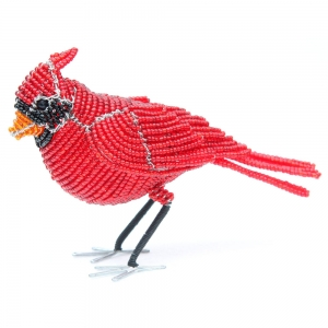 Beadworx: Beaded Cardinal