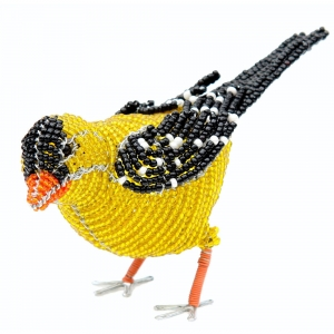 Beadworx: Beaded Gold Finch