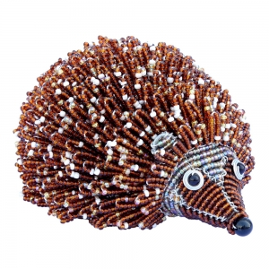Beadworx: Beaded Hedgehog