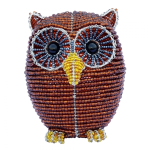Beadworx: Beaded Owl