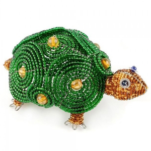 Beadworx: Beaded Turtle