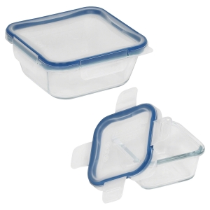 Pyrex: 4 Piece Sqaure Storage Container Set