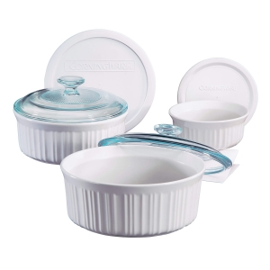 CorningWare: French White 6 Piece Set