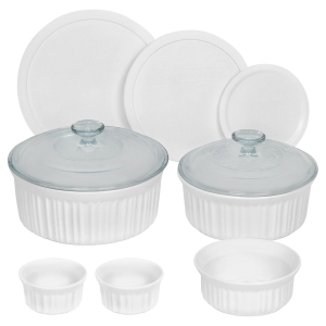 CorningWare: French White 10-Piece Set
