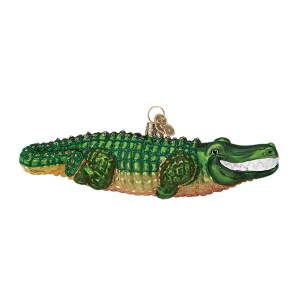 Old World Christmas: Alligator