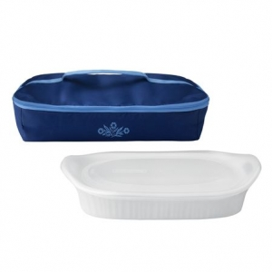 Corningware: Cornflower 3-Quart Portable Set