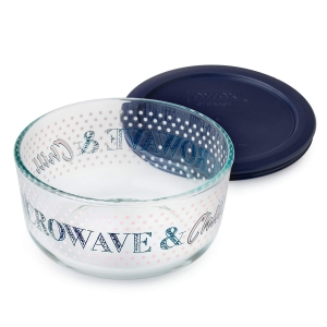 Pyrex: 4-Cup Storage Dish, Microwave & Chill