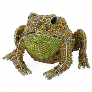 Beadworx: Beaded Ugly Toad