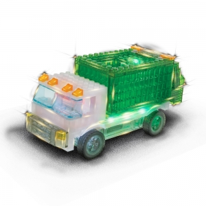 Laser Pegs: 12 in 1 Garbage Truck Kit