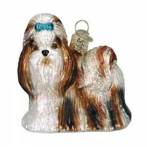 Old World Christmas: Shih Tzu