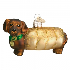 Old World Christmas: Wiener Dog