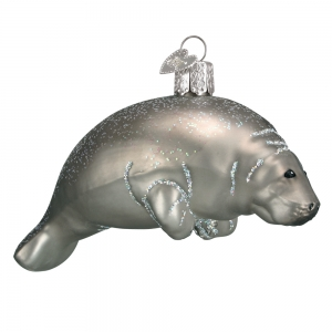 Old World Christmas: Manatee