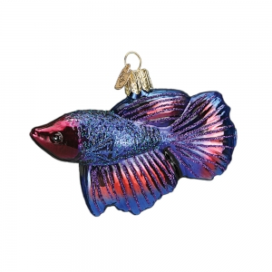 Old World Christmas: Betta Fish