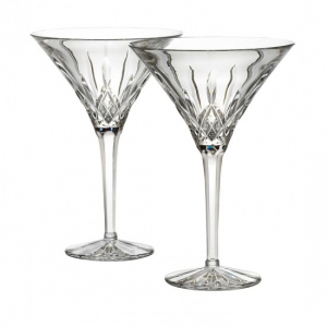 Waterford: Lismore Martini Glasses, Set of 2