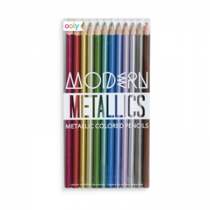 OOLY: Modern Metallics Colored Pencils