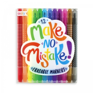 OOLY: Make No Mistake Eraseable Markers