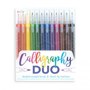 OOLY: Calligraphy Duo Double Ended Markers
