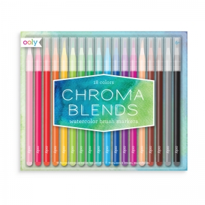 OOLY: Chroma Blends Watercolor Brush Markers
