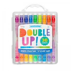 OOLY: Double Up Mini Marker Travel Set