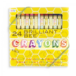 OOLY: Brilliant Bee Crayons